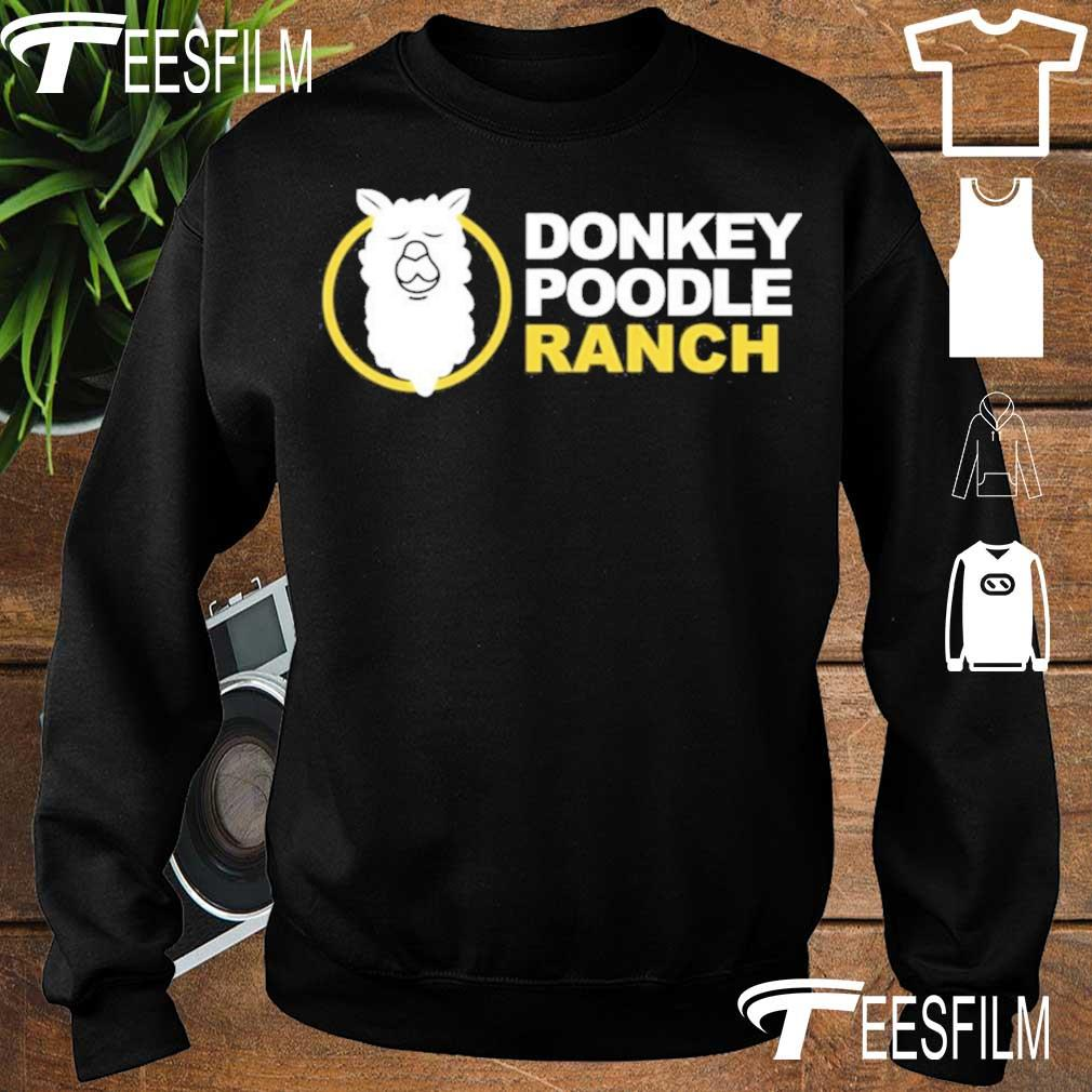 Official Arms Family Homestead Merch Donkey Poodle Ranch Shirt sweater