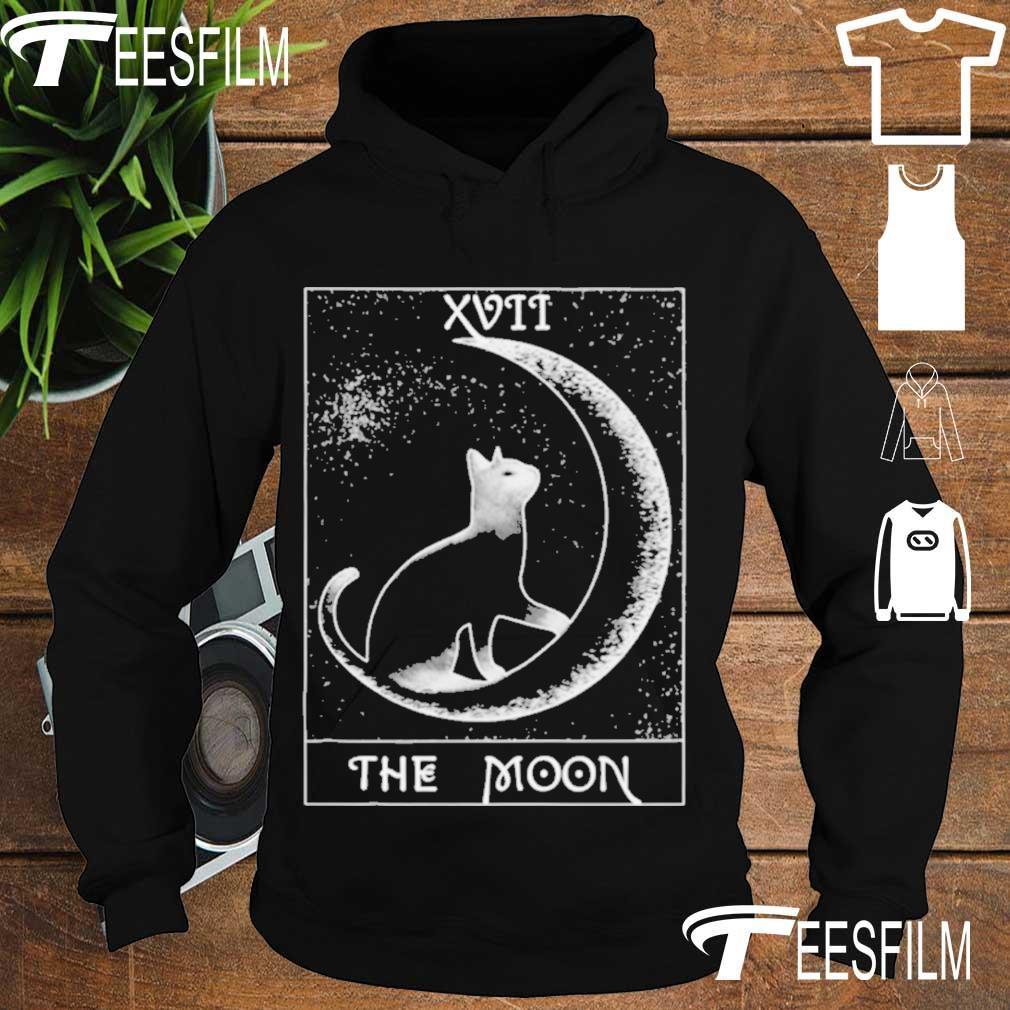 Official Crescent Moon & Black Cat Tarot Card Shirt hoodie