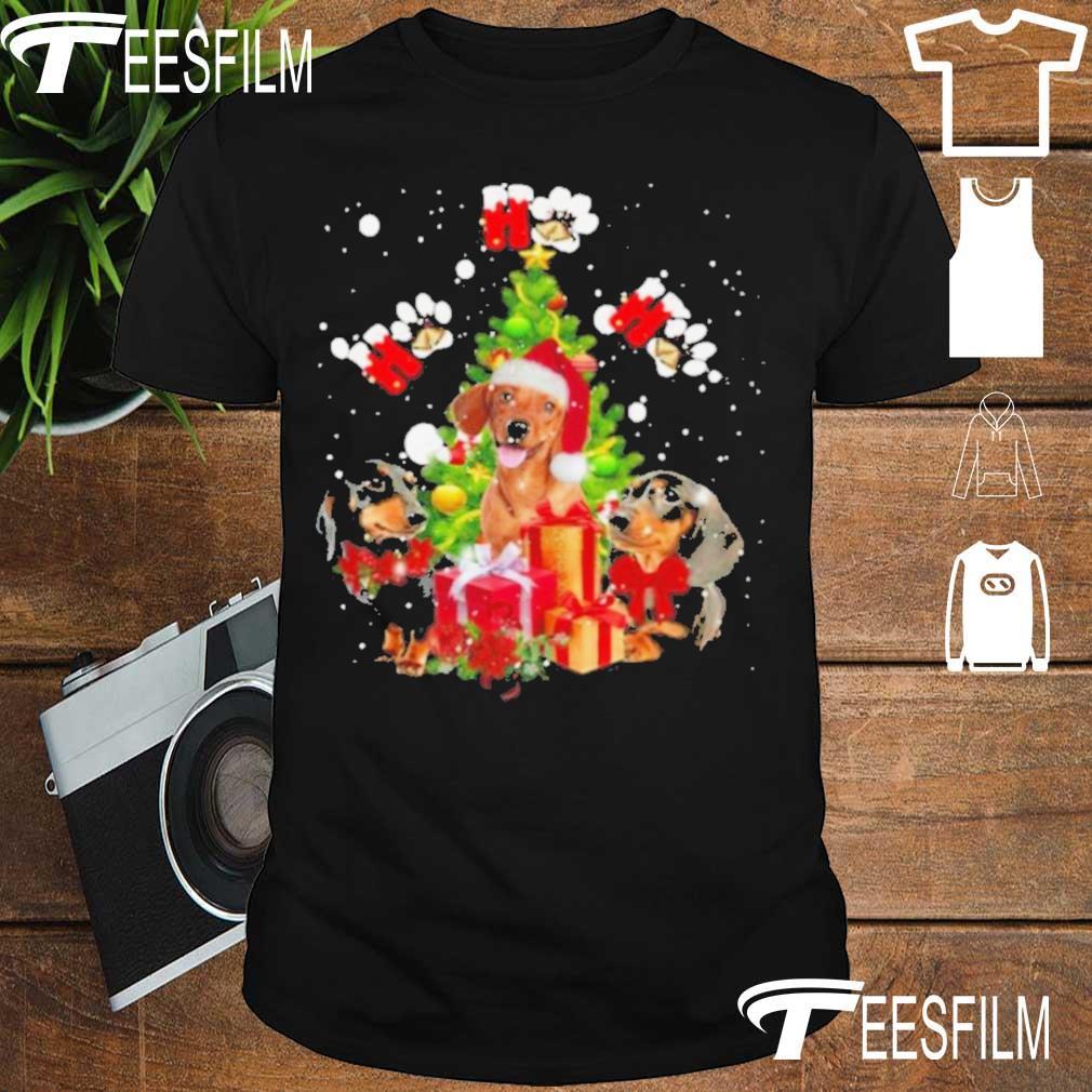 Official Dachshund Ho Ho Ho Christmas Tree Shirt