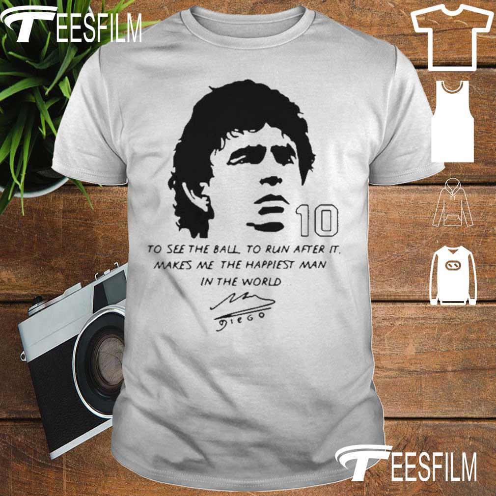 Official Diego Maradona 10 Rest In Peace Maradona 1960 2020 Shirt