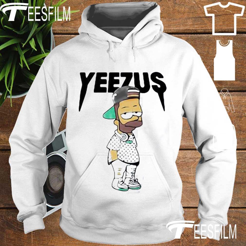 Yeezus Bart Simpson s hoodie