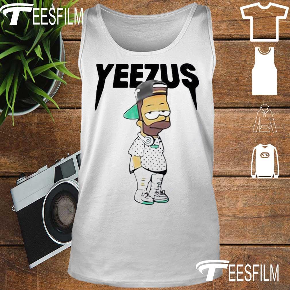 Yeezus Bart Simpson s tank top